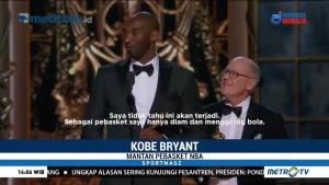Kobe Bryant Raih Piala Oscar