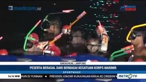 Lomba Renang dan Dayung Lintas Selat Sunda 2018