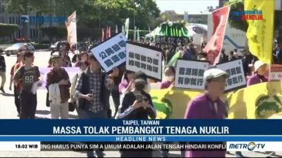 Warga Taipei Tolak Pengaktifan Kembali Pembangkit Listrik Nuklir