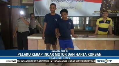 Polisi Kembali Tangkap Pelaku Begal di Jakarta Timur