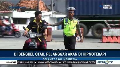 Cara Unik Polisi Sadarkan Pelanggar Lalin dengan Hipnoterapi