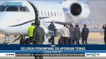 Black Box Pesawat Pribadi Turki yang Jatuh di Iran Berhasil Ditemukan