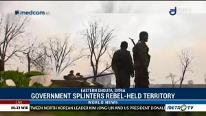 Syrian Government Splinters Rebel-held Eastern Ghouta