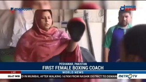 First Female Boxing Coach in Pakistan on a Mission to Train Future Boxers