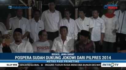 Relawan Pospera Deklarasi Dukung Jokowi Dua Periode