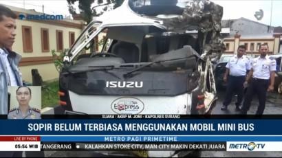 Pengemudi Minibus Terguling di Tanjakan Emen Ternyata Sopir Tembak