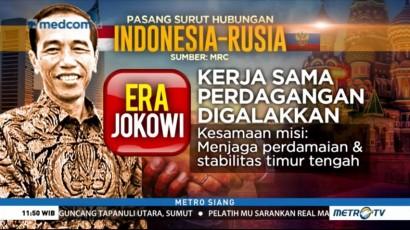 Pasang Surut Indonesia-Rusia