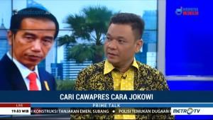 Golkar Serahkan Sepenuhnya Penentuan Cawapres ke Jokowi