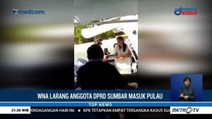 WNA Larang Anggota DPRD Sumbar Masuk Pulau