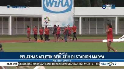 Atlet Pelatnas Atletik Jalani Latihan Perdana Jelang Asian Games