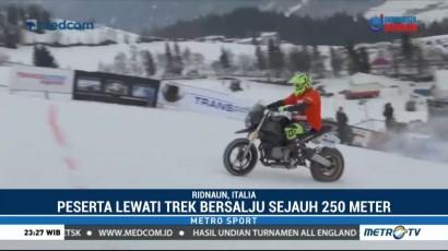 Balap Motor Ekstrem Race and Snow Hill Climbing Digelar di Italia