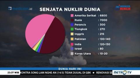 90 Persen Senjata Nuklir di Dunia Dikuasai AS dan Rusia