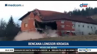Longsor Rusak Sejumlah Rumah di Kroasia