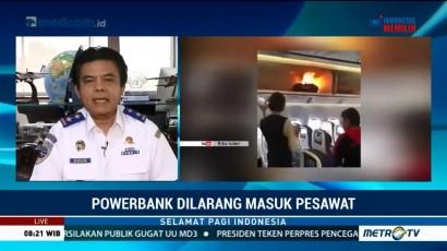 Penjelasan Kemenhub Soal Pembatasan Powerbank di Pesawat