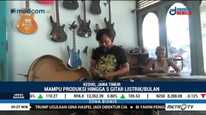 Gitar Listrik Kediri Tembus Pasar Ekspor