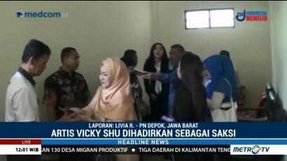 Vicky Shu Bersaksi dalam Sidang Lanjutan Kasus First Travel
