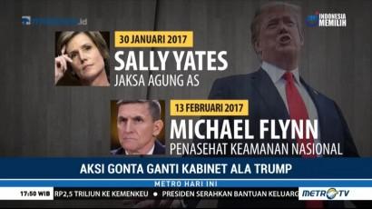 Aksi Gonta-ganti Kabinet Ala Donald Trump