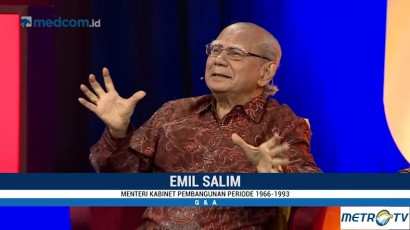 Emil Salim: Jargon