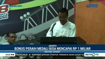 Menpora Janji Bonus Peraih Emas Asian Games 2018 Naik 250 Persen