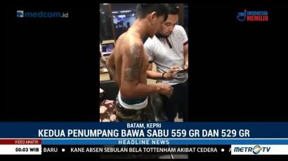 Bawa Sabu 1 Kg, Penumpang Pesawat Ditangkap di Bandara Hang Nadim Batam