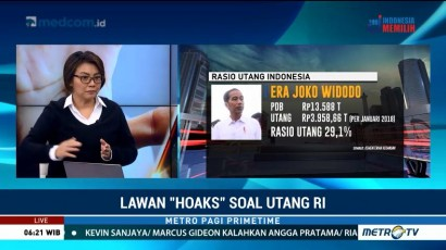 Lawan Hoaks Soal Utang Indonesia