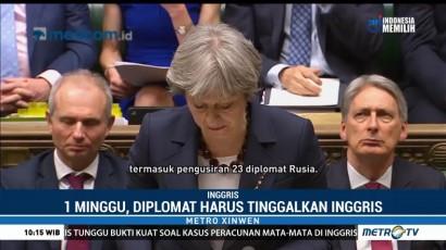 Inggris Usir 23 Diplomat Rusia