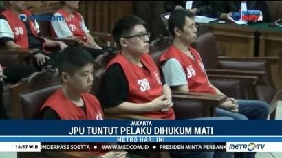 Delapan Penyelundup 1 Ton Sabu Dituntut Hukuman Mati
