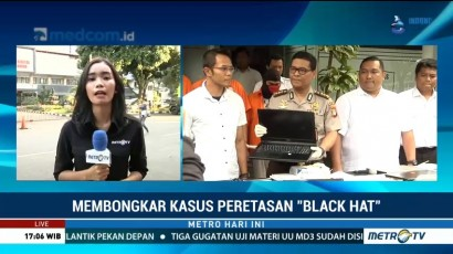 Polisi Kejar 3 Buronan Kasus Peretasan Surabaya Black Hat