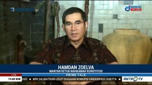 Hamdan Zoelva Ungkap Penyebab Kualitas UU Buruk