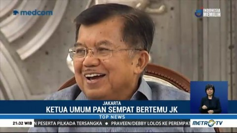 Bertemu JK, Zulkifli Hasan Bahas Poros Ketiga di Pilpres 2019