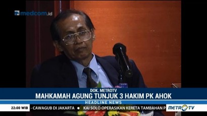 Hakim Artidjo Alkostar akan Pimpin Sidang PK Ahok