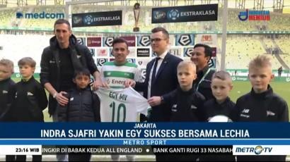 Indra Sjafri Yakin Egy Maulana Cepat Beradaptasi dengan Lechia Gdansk