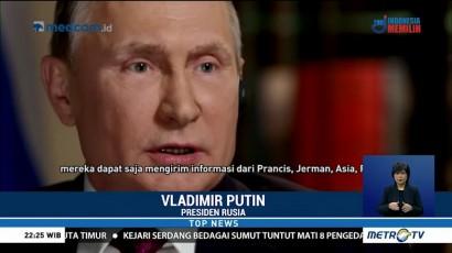 Vladimir Putin Bantah Dugaan Intervensi Rusia di Pilpres AS