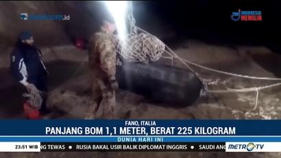 Bom Seberat 225 Kg Peninggalan Perang Dunia II Ditemukan di Italia