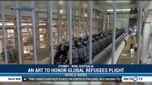 Ai Weiwei Highlights Global Refugee Plight With His Art