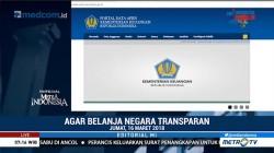 Agar Belanja Negara Transparan