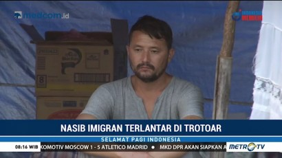 Keberadaan Imigran di Trotoar Kalideres Dikeluhkan Warga