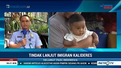 Tindak Lanjut Imigran di Trotoar Kalideres