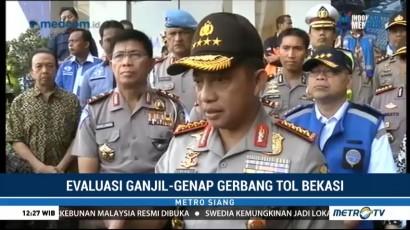 Kapolri: Volume Kendaraan di GT Bekasi Barat & Timur Turun 50%