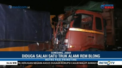 Penyelamatan Sopir Korban Kecelakaan di Jalan Raya Bandung-Cirebon Berlangsung Dramatis