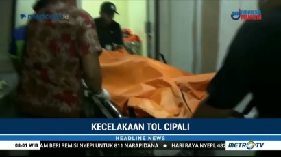 Dua Korban Luka Tabrakan di Tol Cipali Dirawat di RS Thamrin