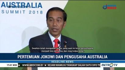 Jokowi Yakinkan Pengusaha Australia Bahwa ASEAN akan Jadi Poros Perekonomian Baru