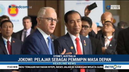 PM Australia Puji Kesuksesan Jokowi Memimpin Indonesia
