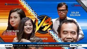 Meutya Hafid-Yuki Kato vs Prie GS-Soleh Solihun di Games Kepo Maksimal