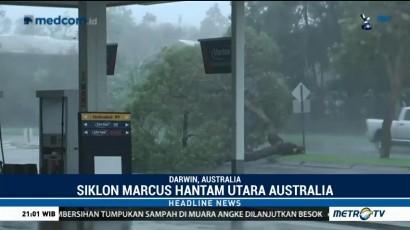 Siklon Marcus Terjang Australia