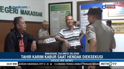 Buron 8 Tahun, Mantan Kepala Bank Sulselbar Ditangkap