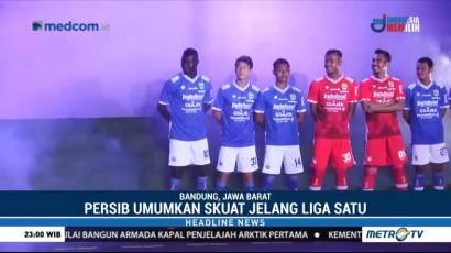 Persib Resmi Perkenalkan Skuat untuk Liga 1 2018