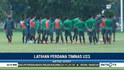 Jelang Lawan Singapura, Timnas U-23 Gelar Pemusatan Latihan
