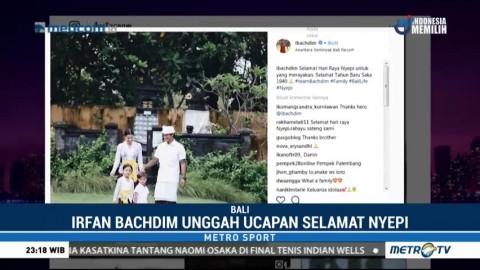 Perayaan Nyepi Pemain Bali United