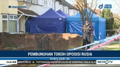 Polisi Inggris Terus Selidiki Kematian Pengusaha Rusia